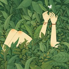 Image uploaded by cam. Find images and videos about art, aesthetic and anime on We Heart It - the app to get lost in what you love. Plant Aesthetic, Nature Aesthetic, Aesthetic Gif, Aesthetic Wallpapers, Pretty Art, Cute Art, Piskel Art, Image Deco, Japon Illustration