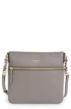 kate spade new york 'cobble hill - ellen' leather crossbody bag available at #Nordstrom Popular Handbags, Cheap Handbags, Luxury Handbags, Fashion Handbags, Purses And Handbags, Fashion Bags, Designer Handbags, Dior Handbags, Hobo Handbags