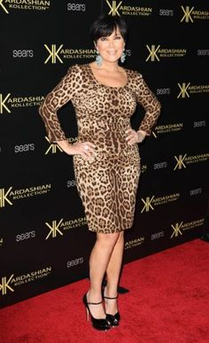 stars that should dress their age...kris jenner