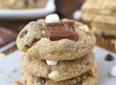 Mini S'mores Cookies from http://www.twopeasandtheirpod.com/