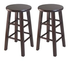 Winsome Set Of 2 Square Leg, 24-inch Counter Stool, Antique Walnut Winsome Wood,http://www.amazon.com/dp/B007IVQCGA/ref=cm_sw_r_pi_dp_eIKmtb0NXVZGS0YW