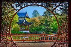 Dr. Sun Yat-Sen Chinese Garden. In Chinatown, Vancover, Canada