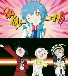 Dramatical murder. chek out my instgram @oonarau i'm trying to follow and like back ♥