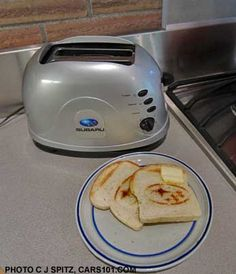 Subaru toast with butter, yum!  Leuk vaderdag-idee?!