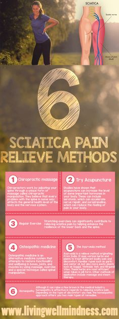 Treating sciatica can be very tiresome.