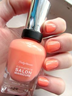 "Sally Hansen Complete Salon Manicure in ""Peach of Cake"""