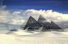 The Great Pyramid of Giza (known also as the Pyramid of Khufu, or the Pyramid of Cheops) is one of the Seven Wonders of the Ancient World and the only one that remains today. Great Pyramid Of Giza, Pyramids Of Giza, Seven Wonders, Art Template, Design Templates, Meditation Music, Antarctica, Little Books, Global Warming