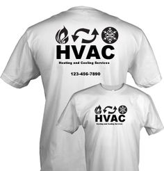Hvac Company Shirt Printingdesign Ideast