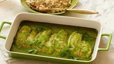 Baked Talapia with coconut and corriander Sauce