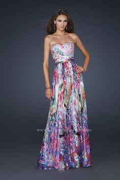 La Femme Prom - 17735  love the top piece