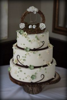 I love the cake but I dont really care for the nest on top