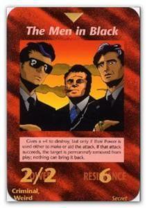 Illuminati Card The Men in Black
