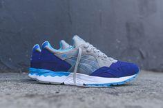 ASICS GEL LYTE V (ROYAL BLUE/TEAL) - Sneaker Freaker