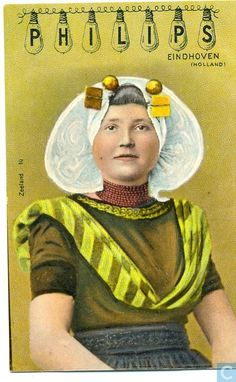Zuid-Beveland. Philips postcard, photo by Maurits Binger, ca. 1911