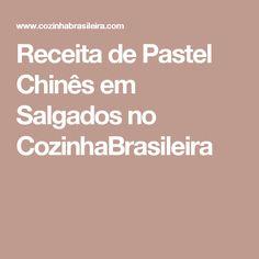 Receita de Pastel Chinês em Salgados no CozinhaBrasileira