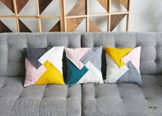How to sew Origami cushion cover