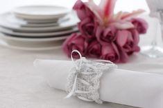 Wedding Napkin Ring (Crochet)