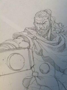 Thor by tincan21 on @DeviantArt