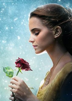 Emma Watson - Belle - Beauty and the Beast. Thank you Disney❤❤ Beauty And The Beast Movie, Beauty And The Best, Emma Watson Beauty And The Beast, Disney Love, Disney Art, Disney Films, Disney And Dreamworks, Disney Pixar, Harry Potter