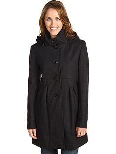 DKNY empire waist coat