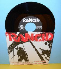"RANCID you want it, you got it - 4 song ep 7"" Record punk Vinyl #punkrockPunkNewWave"