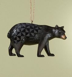 2011 Jim Shore, Black Bear Ornament