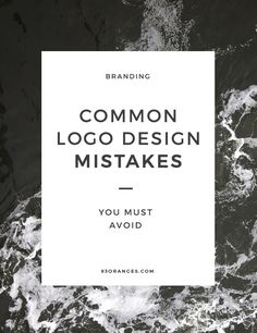 Common Mistakes When Getting a Logo Designed http://83oranges.com/common-mistakes-customers-make-when-getting-a-logo-designed/ #design #art #graphicdesign
