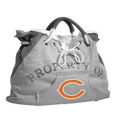 Chicago Bears Hoodie Tote Bag