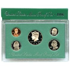 1996-S 5-Coin Proof Set