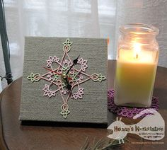 The Queen of Heart wall clock-Henna's Workstation