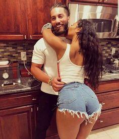 relationship goals,couples goals,marriage goals,get back together Cute Relationship Goals, Cute Relationships, Marriage Goals, Sexy Jeans, Sexy Shorts, Curvy Jeans, Mixed Couples, Black Couples, Interacial Couples