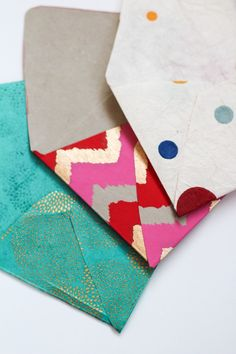 DIY Envelopes: Ready to Mail from @Rachel Smith | 52 Weeks Project