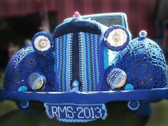 crochet Daimler, again by Bali Portman and helpers, at the Royal Melbourne Show
