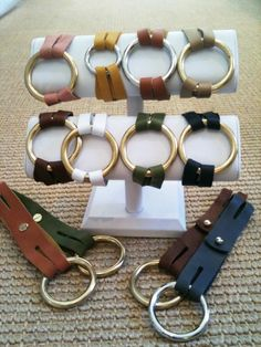Henri Lou bracelets!!!! I like the brown and taupe