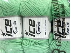 Superwash Wool Mintgrün