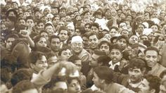 Indian nationalist Subhas Chandra Bose, then president of the Indian National Congress Lahore railway station 24 November 1938