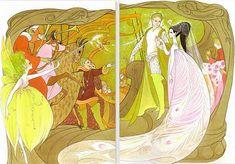 "Hilary Knight ""Beauty and the Beast"""