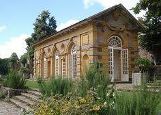 Orangery at Hestercombe Gardens in Somerset. Designed by Edwin Lutyens between 1904–09. Photo by Phil Bartle via flickr.