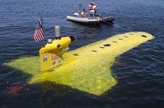 Manta UUV - автономный беспилотный подводный аппарат