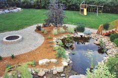 Pond & Fire Pit