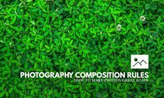 A guide to making your photos rock, just by applying a few photography composition rules. Rocket science is not included.