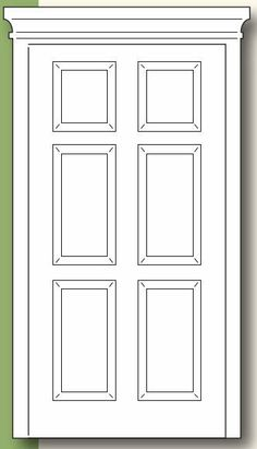 Grand Madison Door Die  sc 1 st  Pinterest & FRONT DOOR SHAPED CARD SET....TEMPLATE - CUTTING FILE | Pinterest ...