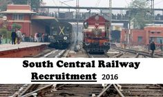 South Central Railway Recruitment 2016 14 Scouts Jobs