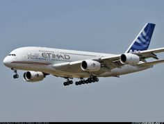 Etihad Airways PJSC said its Airbus Group NV (AIR) A380s will target travelers seeking privacy and new levels of luxury when the jets join the fleet in December, months or years after flying with other premium carriers.