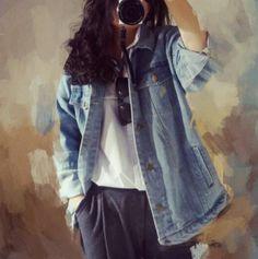 Wind Autumn And Winter Women Denim Jacket Vintage Oversize Loose Female Jeans Coat Solid Slim Chaquetas