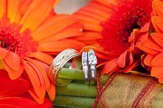 A lovely, vibrant wedding ring picture | @Rachel Wattson