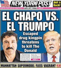 El Chapo Threatens The Donald | Batshit Crazy News