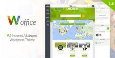 Woffice v2.1.0.1 – Intranet, Extranet WordPress Theme