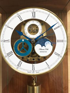 Clock, Wall, How To Make, Home Decor, Pendulum Clock, Ideas, Watch, Homemade Home Decor, Clocks