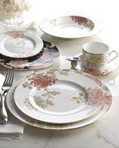 "Marchesa ""Painted Camillia"" dinnerware"